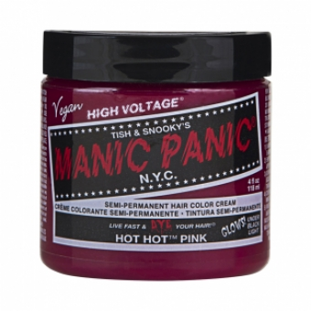 Manic Panic Hot Hot Pink Hair Color