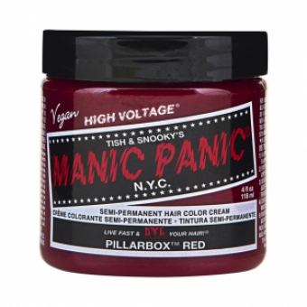 Manic Panic Pillarbox Red Hair Color