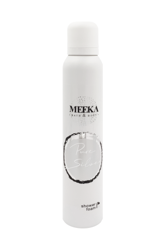 MEEKA Showerfoam Pure Silver
